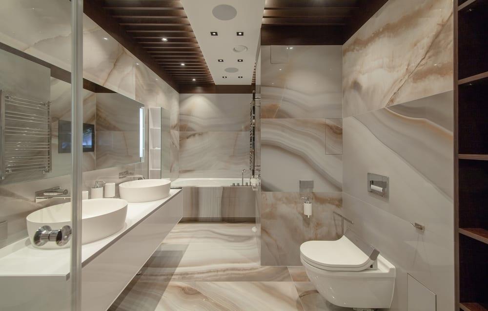 granito-na-decoracao-parede-banheiro-loft